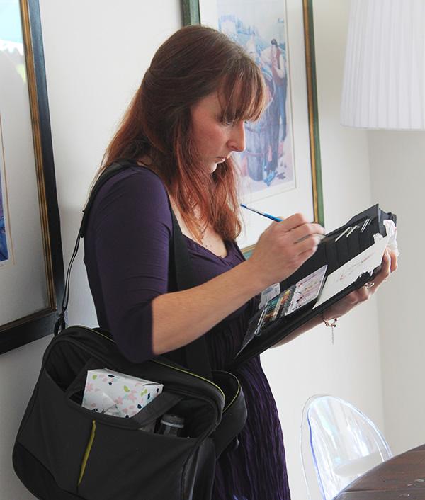 Jana Forsyth Wedding Sketcher