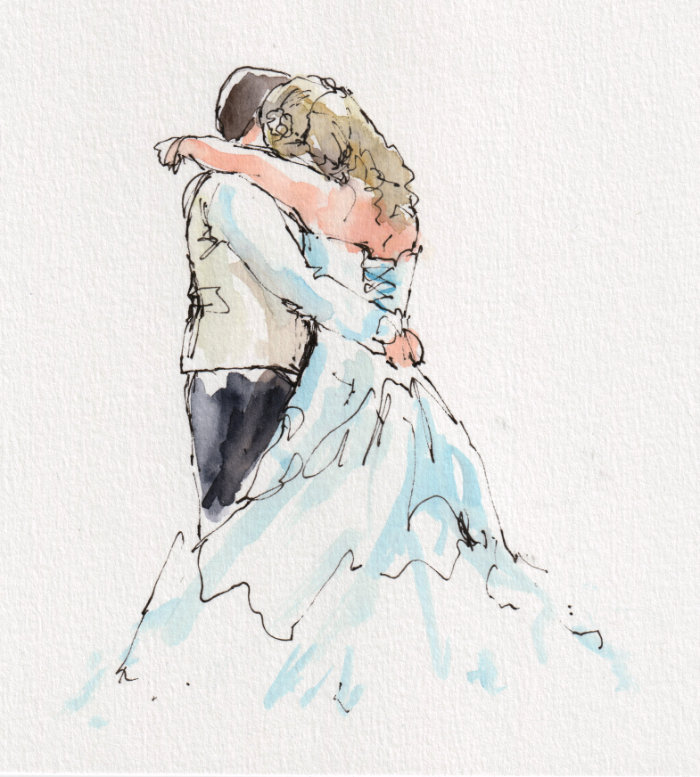 Wedding sketching